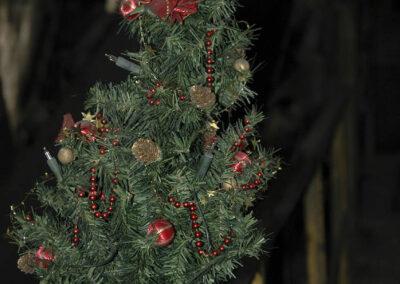 Industriekultur im Saarland - Fotoserie Grube Göttelborn - die letzte Schicht, Weihnachtsbaum